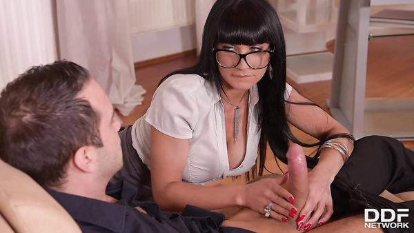 Helpful assitant Valentina Ricci gets her cool ass banged hard by her master