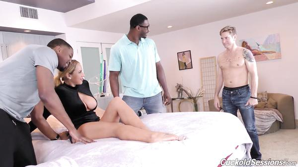 Olivia Austin - Poor husband looks like his wife gets fucked by black guys