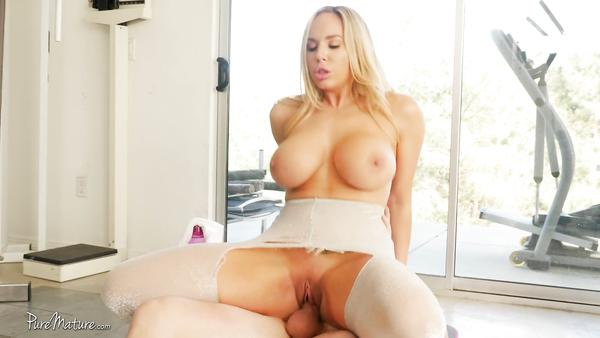 Big Sexy Boobs Blonde Olivia Austin Gets Her Tight Pussy Stuffed With Cum